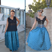 Fancy Circle Skirt