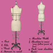 A: How to size your bodice
