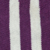 Purple and White Strip Socks